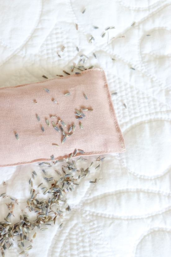 lavender, pink linen, lavender sachet