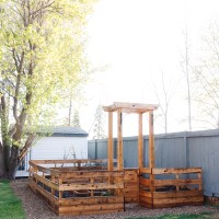 How To Build your own Enclosed Raised Garden Bed