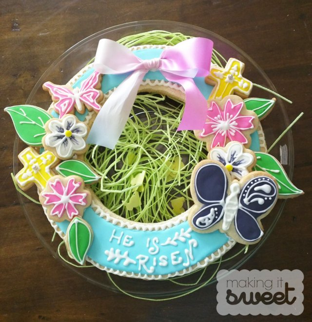 makingitsweet_easter_cookie_wreath