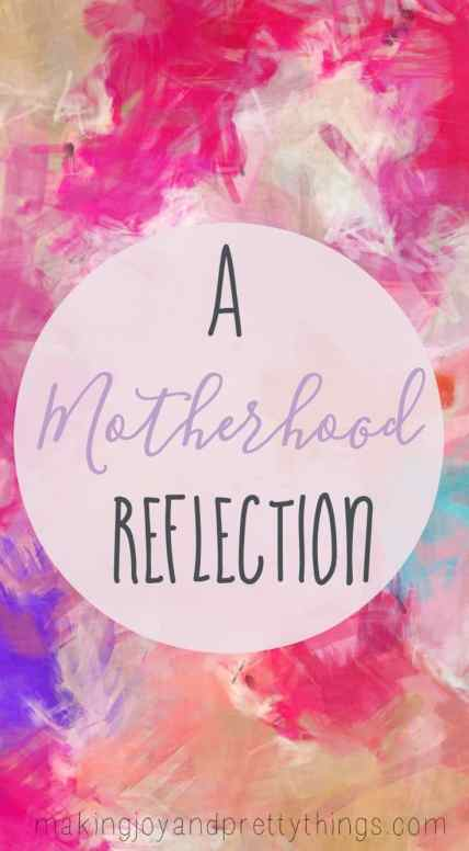 Motherhood: An Easter Reflection on Holiness -