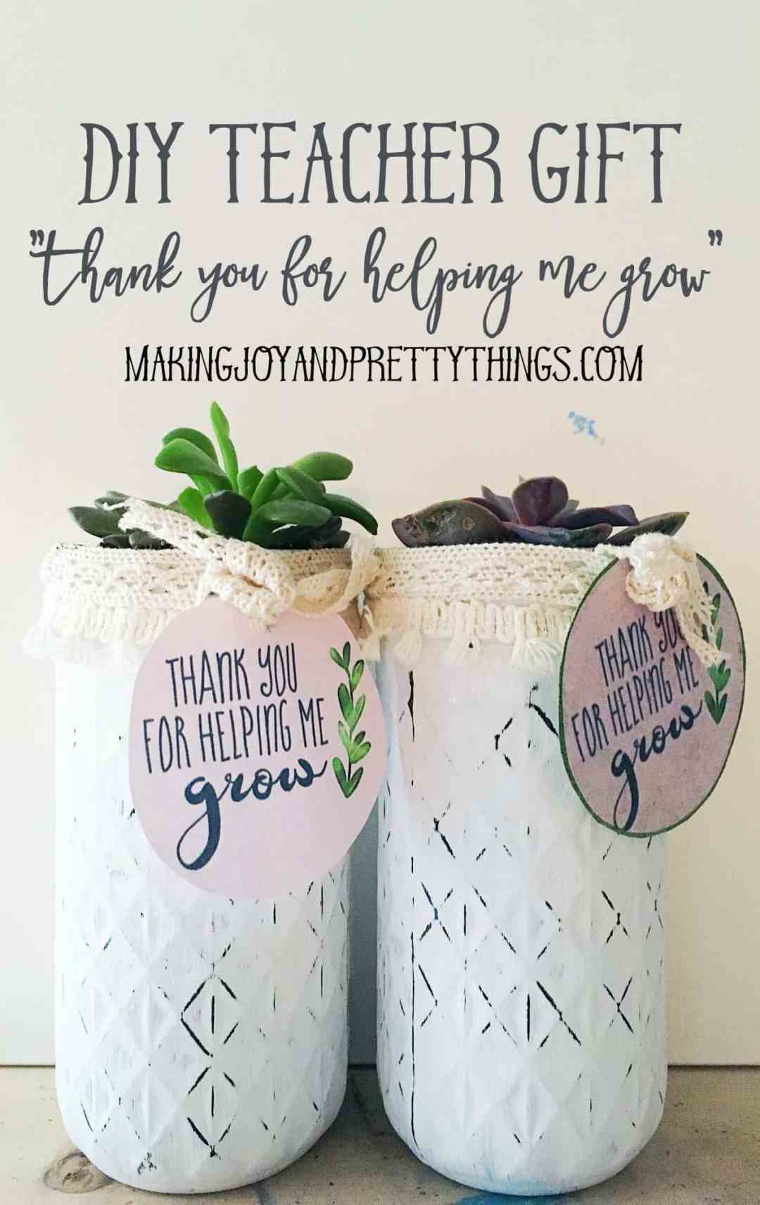 Diy Teacher Appreciation Gift Free Printable