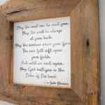 DIY Irish Blessing Framed Sign