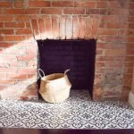 One Room Challenge {Week 4}:  How to Install Cement Tile