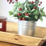 3rd Day of Craftmas – Rustic Wood Tray