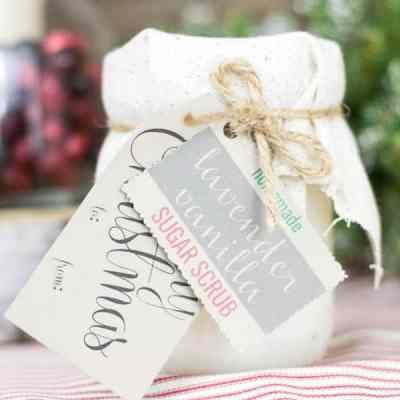 8th Day of Craftmas – Mason Jar Sugar Scrub