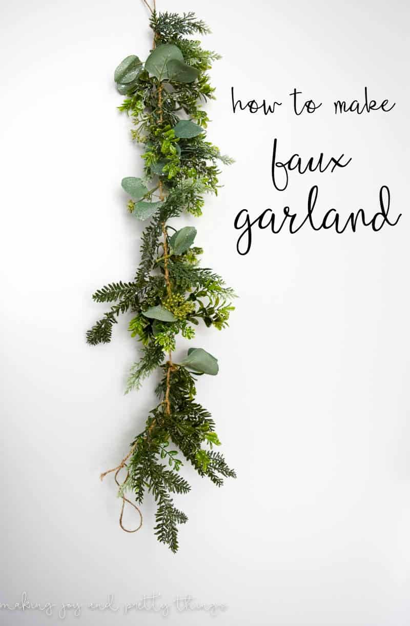 How to Make your own garland | Garland DIY | DIY Garland Ideas | DIY Garland Christmas | DIY Garland Greenery |