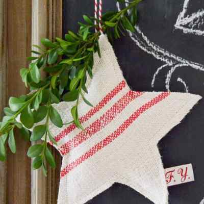 12 DIY Farmhouse Style Ornaments