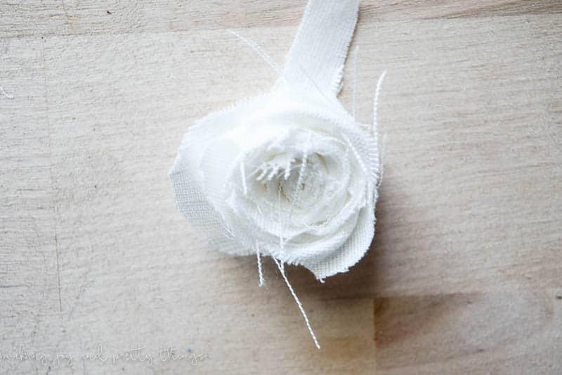 diy fabric floral garland | diy fabric flowers no sew | flower garland | diy fabric flowers