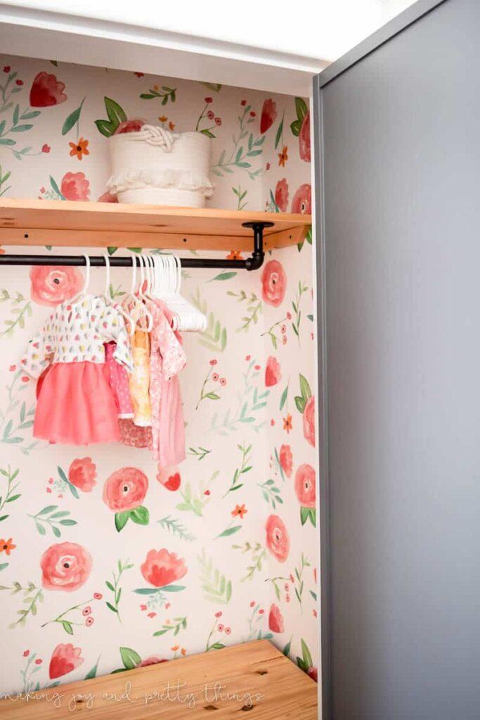 farmhouse girl's nursery