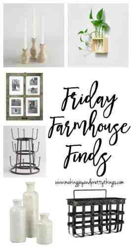 friday farmhouse finds | budget friendly farmhouse decor