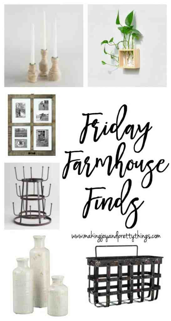 farmhouse friday finds | budget friendly farmhouse decor