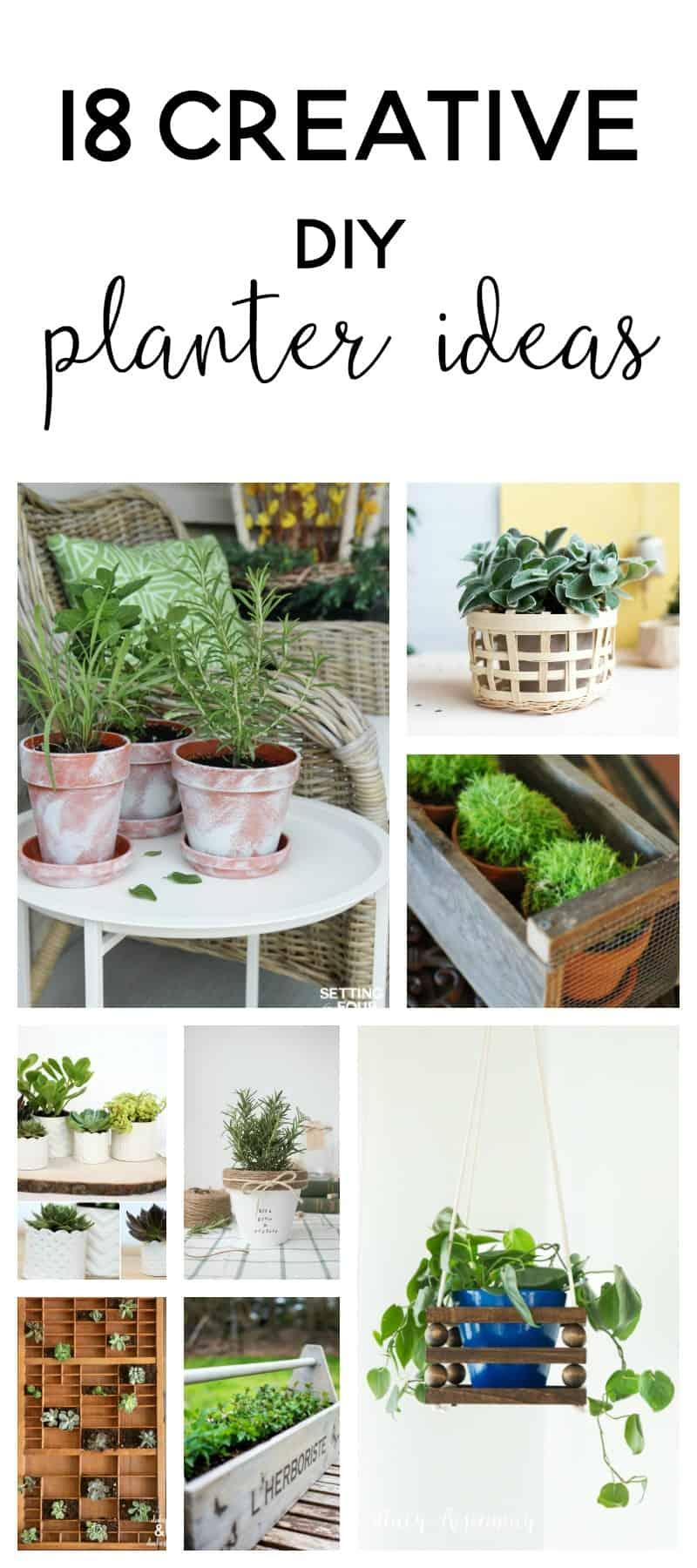 Diy Planters | Diy Planter Ideas | Diy Plant Pots | Planter Ideas | Planters  DIY