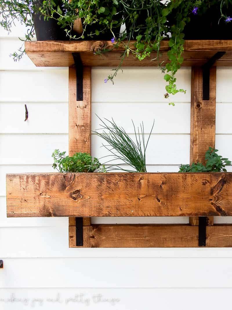 Vertical Wall Planter | Vertical Garden | Vertical Gardening | Herb Garden  | Vertical Herb Garden