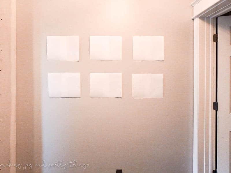 design inspiration for a modern farmhouse hallway | hallway decor | hallway decorating | hallway ideas | modern farmhouse | boho hallway | upstairs hallway decorating