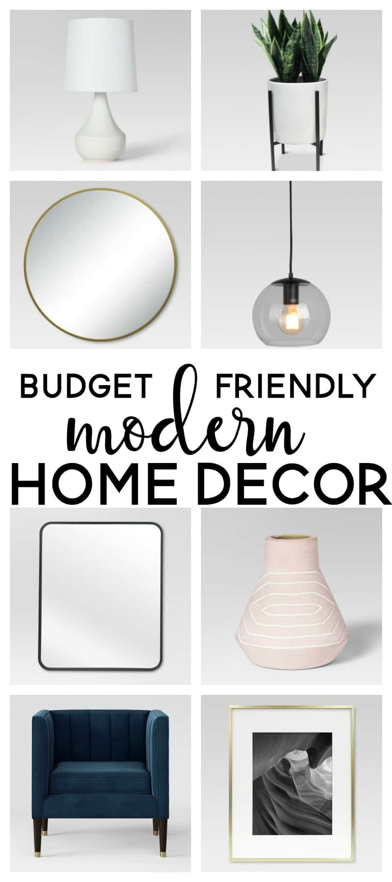 My Favorite Modern Home Decor from Target
