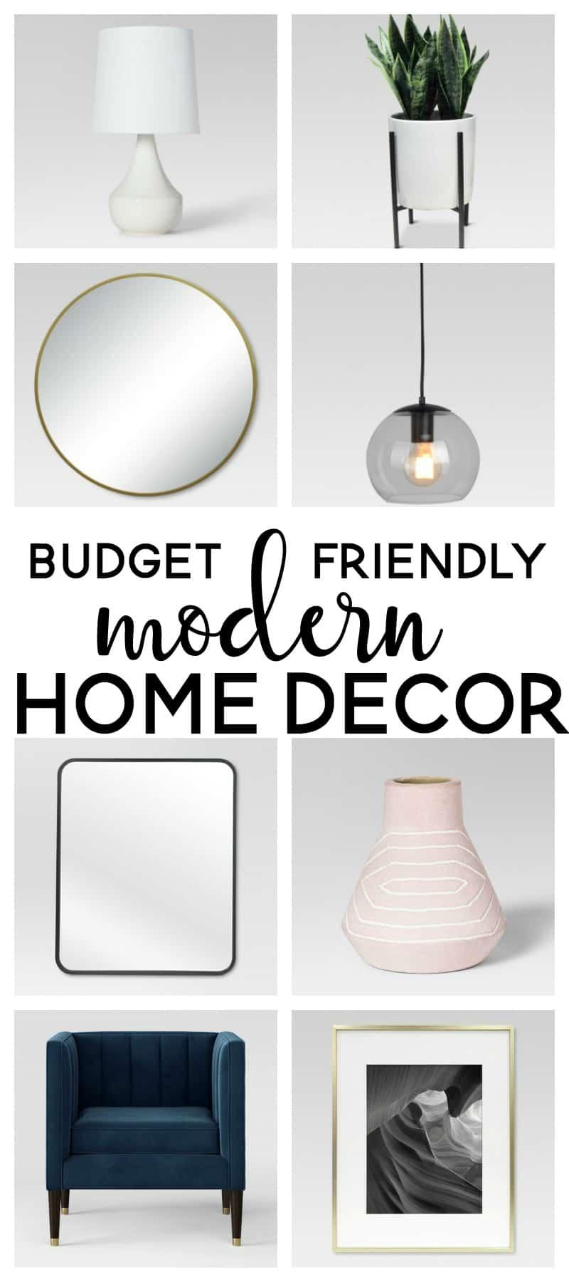 Budget Friendly Modern Home Decor | Project 62 | Target | Modern Farmhouse  | Home Decor