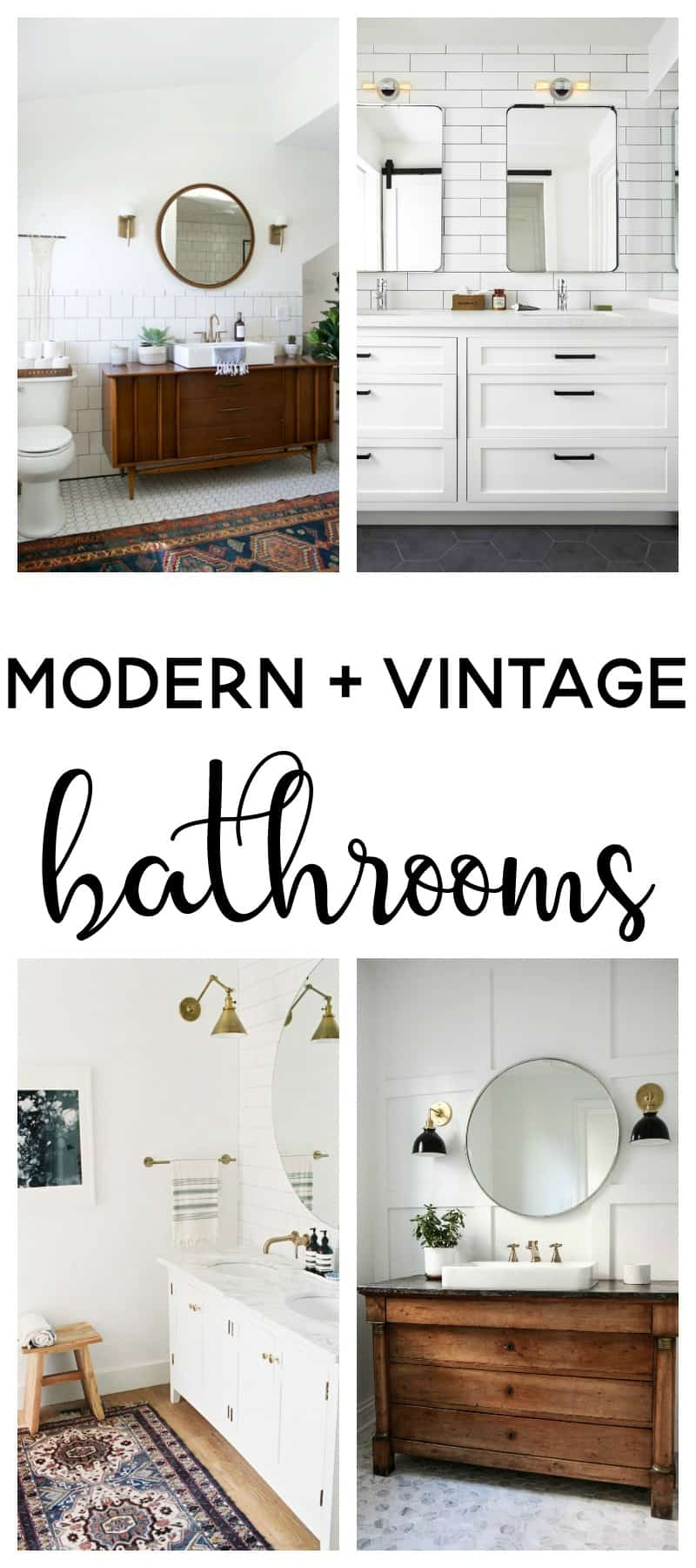 modern vintage bathroom | modern farmhouse | modern vintage bathroom ideas | bathroom ideas | bathroom remodel | bathroom decor | master bathroom ideas | master bathroom remodel | master bath remodel |