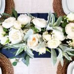 How to Make a Farmhouse Neutral Floral Centerpiece