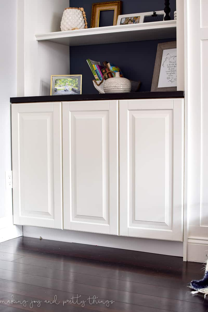 Ikea Hack Kitchen Cabinets Turned Built Ins Making Joy