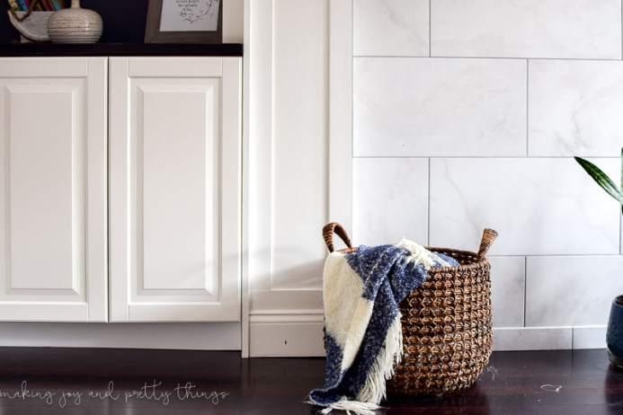 Ikea Sektion Credenza : Ikea hack: kitchen cabinets turned built ins