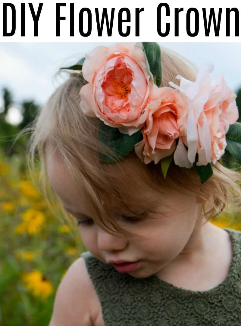 Diy Flower Crown And Evie Photoshoot