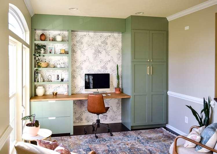 One Room Challenge Week 6 : : Modern Office Reveal!!