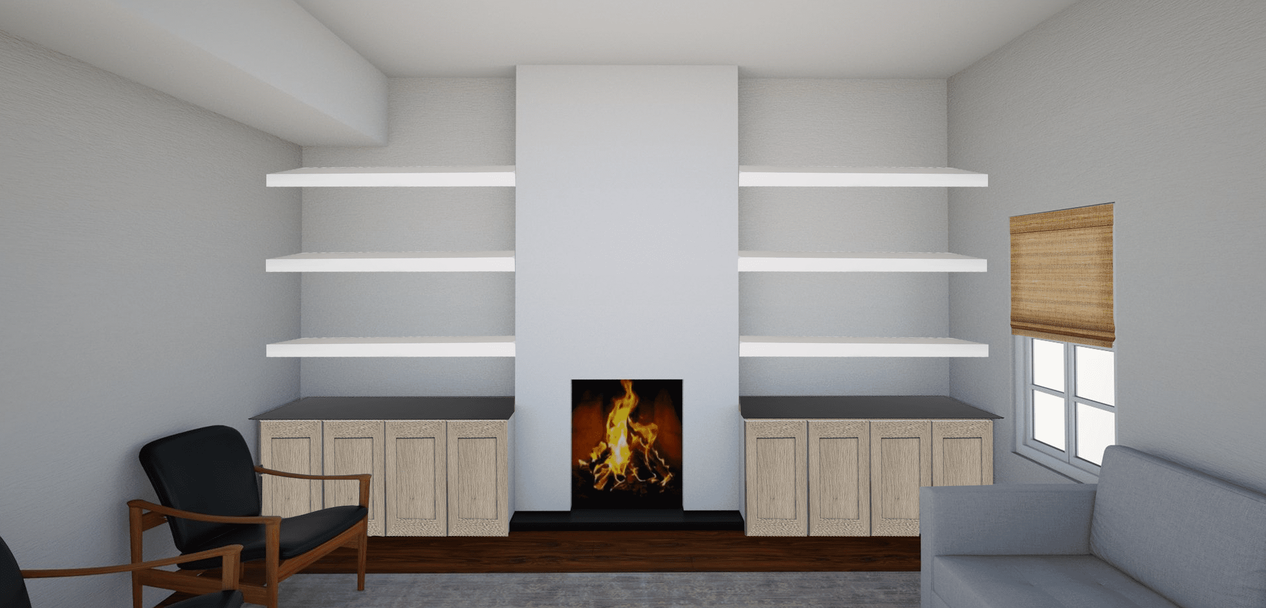 Fireplace Design Options For Our Living Room Makeover