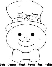 snowmancolorbynumber jpg