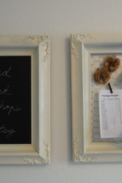 Making Old Picture Frames New in 3 Easy Steps – From Eek to Chic