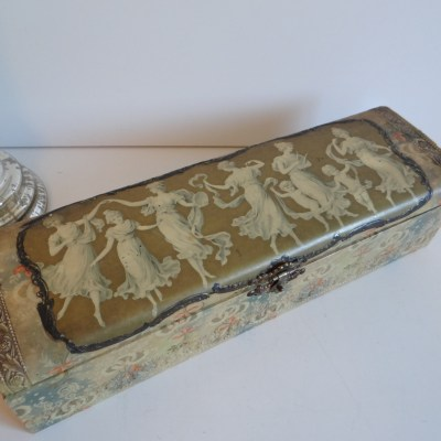 Stylish Antique Glove Boxes – Beautiful – Useful –  Collectible