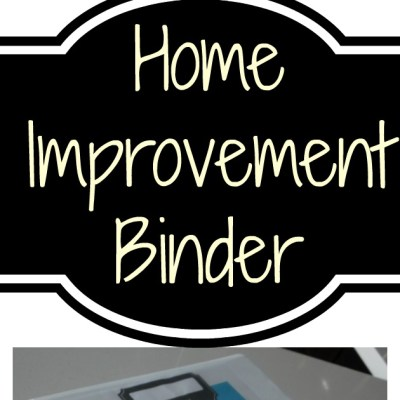 Home Organization Binder – Warranty & Repair Book – A More Organized Home