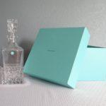 Tiffany & Co.®,Tiffany decanter,Tiffany Rock Cut decanter,Tiffany & Co.® crystal decanter