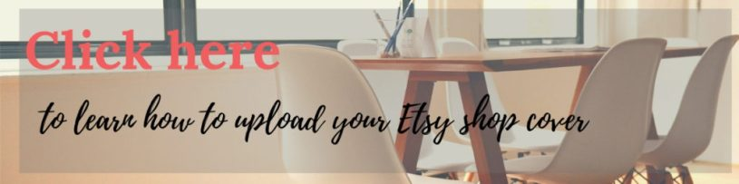 Canva tutorial to upload your Etsy shop cover
