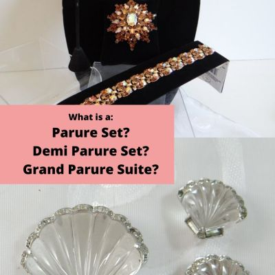 What is a Parure Jewelry Set?  A Demi Parure Jewelry Set?  A Grand Parure Jewelry Suite?