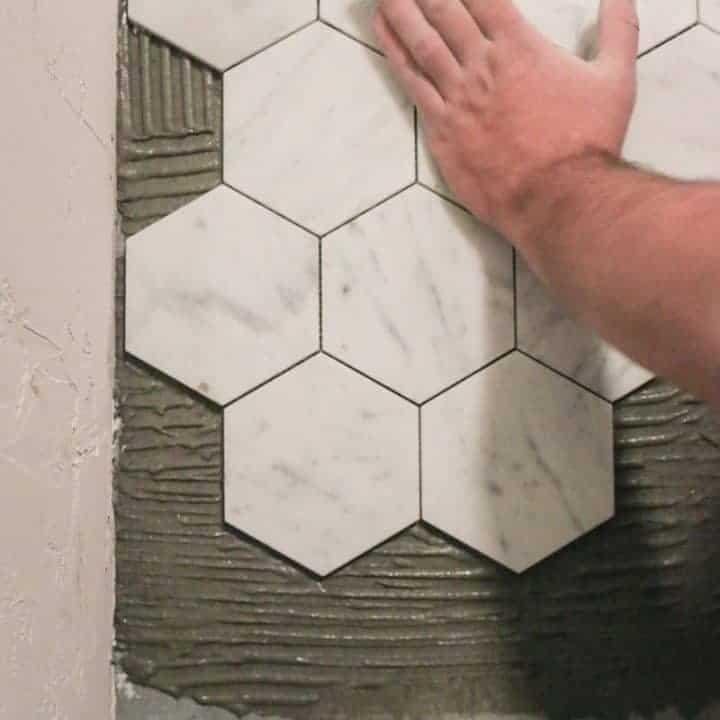 how to tile a bathroom floor for