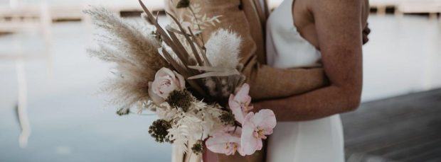 ceremoniemeester trouwboeket