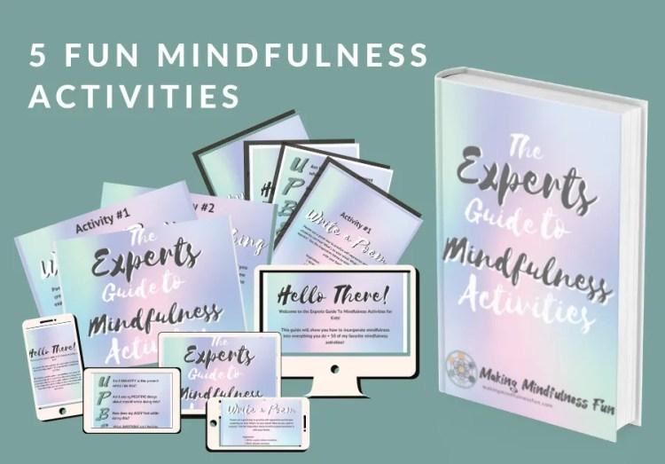 5 fun mindfulness activites, fun mindfulness