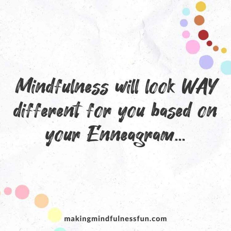 Enneagram Mindfulness