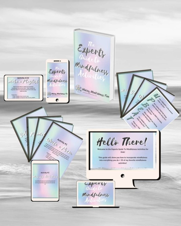 The Experts Guide To mindfulness Activities Cover Mock Up