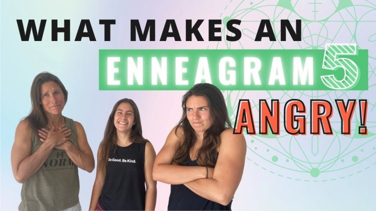 Enneagram 5 Angry