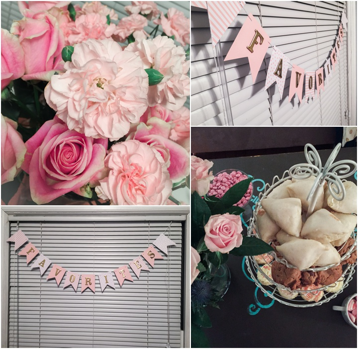 decoration for favorites things party
