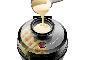 Win a Chefman Perfect Pour Volcano Waffle Maker