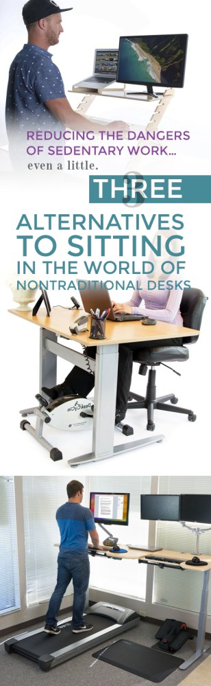 alternatives to sitting at work