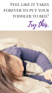 """Feel like it takes FOREVER to get your toddler to go to bed? Try this strategy from, """"How to Get Your Toddler to Bed With No Excuses."""" Toddlers are smart little humans. By the time children are two-years-old, many have figured out exactly what to say or do to drag bedtime out. Parents of toddlers know that they are notorious for creating a plethora of excuses to stay awake. Become a bedtime guru today by clicking here."""