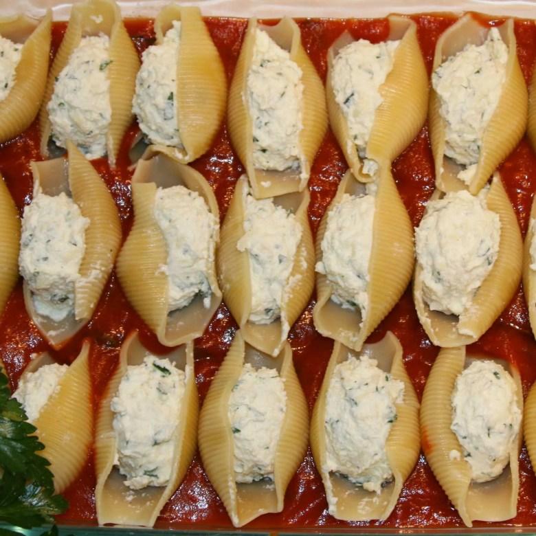 stuffed shells and cheese recipe