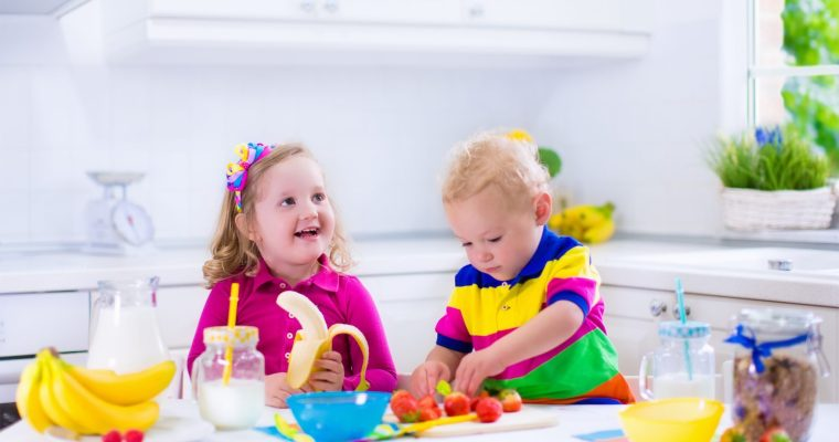 Amazingly Quick, Simple, and Healthy Breakfast Creations for Kids