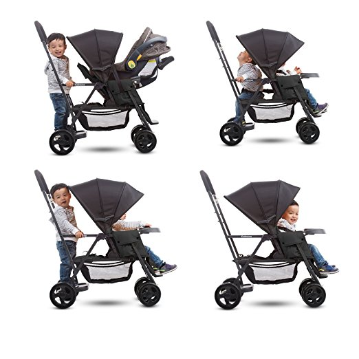 lightweight double stroller