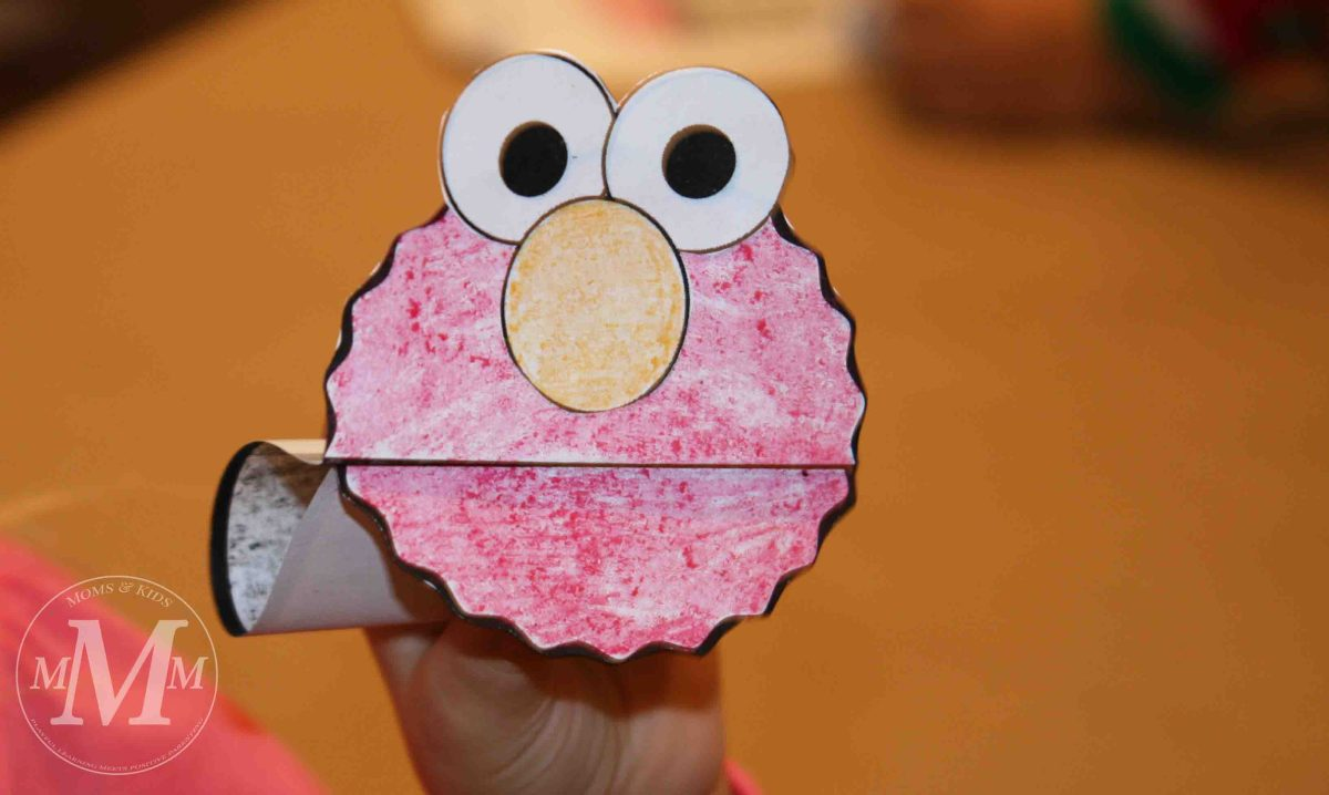 sesame street craft ideas