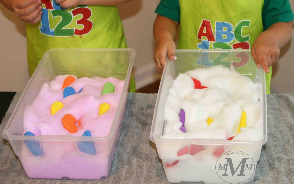5 Preschool Activity Ideas for Exploring Bubble Foam That ...