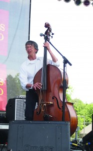 Drew Phelps plays bass